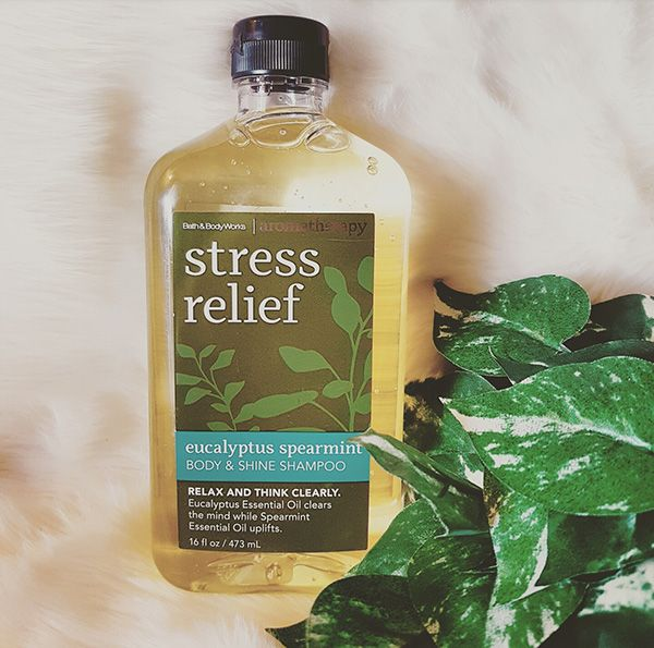 Bath and body stress relief line