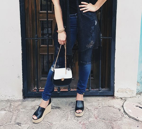 Guess Wedges and Hollister Denim