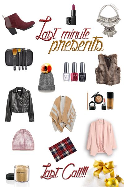 Gifts ideas, last minutes presentes