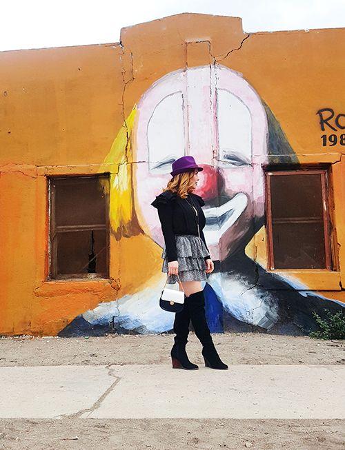 Ruffles and Chloé Bag Style