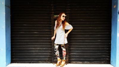 Leggins Papaya, Wedges Steve Madden, Lentes Vogue eyewear, Crossback Louis Vuitton