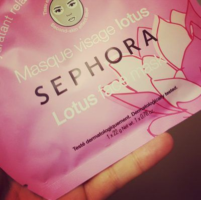 Sephora Lotus Face Mask