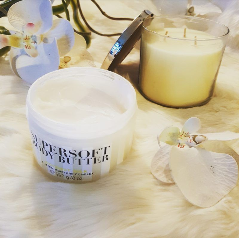 Supersoft coconut body butter by Victoria's Secret