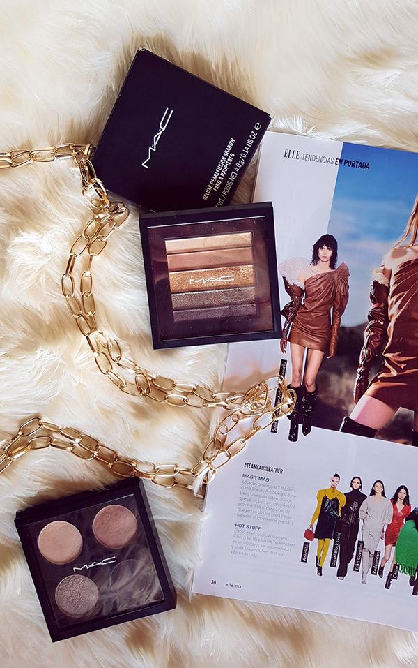 MAC Veluxe Pearlfusion Shadow Collection: Brownluxe