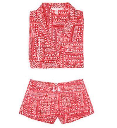 Victorias Secret Red Hearts Pijama